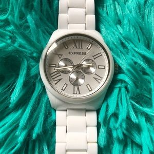 EXPRESS Watch - White - Lightweight